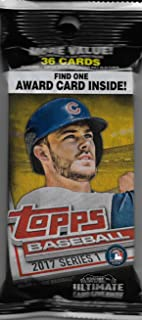 2017 topps silver pack