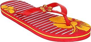 Shoefly Women Red-341 Flip-Flops & House Slippers
