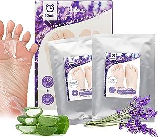 2 Pack Foot Peel Mask, Wolady Exfoliant Foot Peel, Soft Smooth Feet Mask, Repair Rough Heels, Remove Calluses Foot Dead Sk...