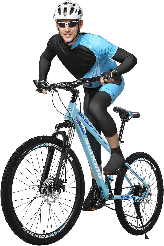 Vehpro New item 26In Mens Ranking TOP15 Mountain Bike - 21-Speed Suspen Front MTB