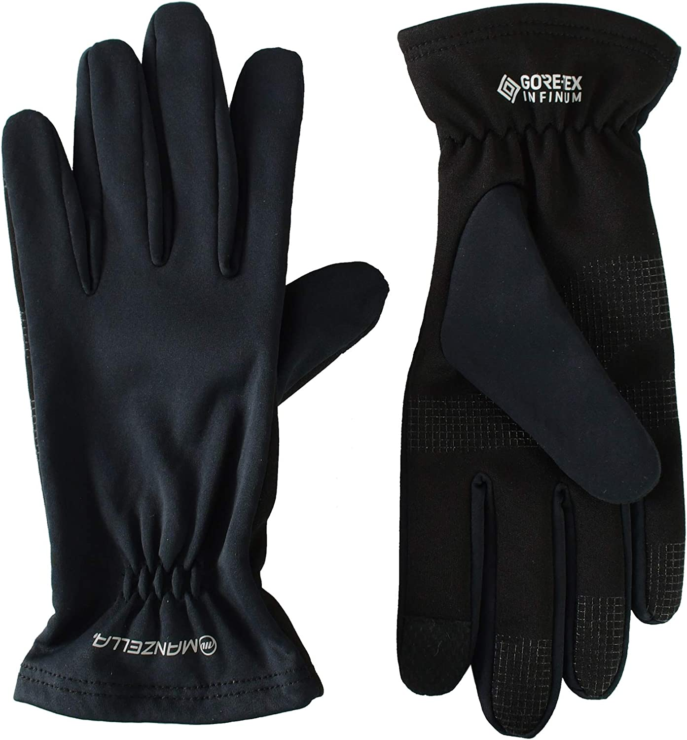 Manzella Men's Lightweight Gore-Tex Infinium Glove, Touchscreen Capable with Windproof Protection Against Cold Weather