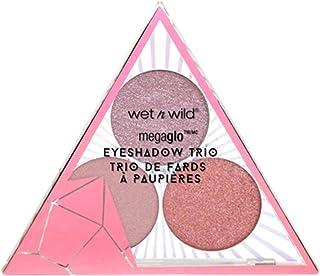 wet n wild Crystal Cavern Mega Glo Eyeshadow Trio, Rose Quartz