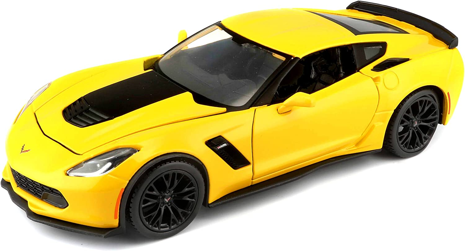 Maisto 1 24 2015 Corvette ZO6 Diecast Vehicle (colors May Vary)