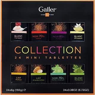 Galler ガレー チョコレート ベルギー王室御用達 ミニタブレットギフトボックス (24個入)