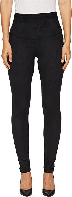 Yummie - Faux Suede Signature Waist Band Leggings