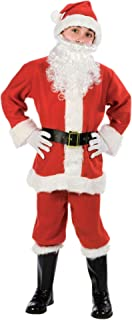 Fun World Costumes Baby Boy's Child Promotional Santa Suit, Red/White, Large