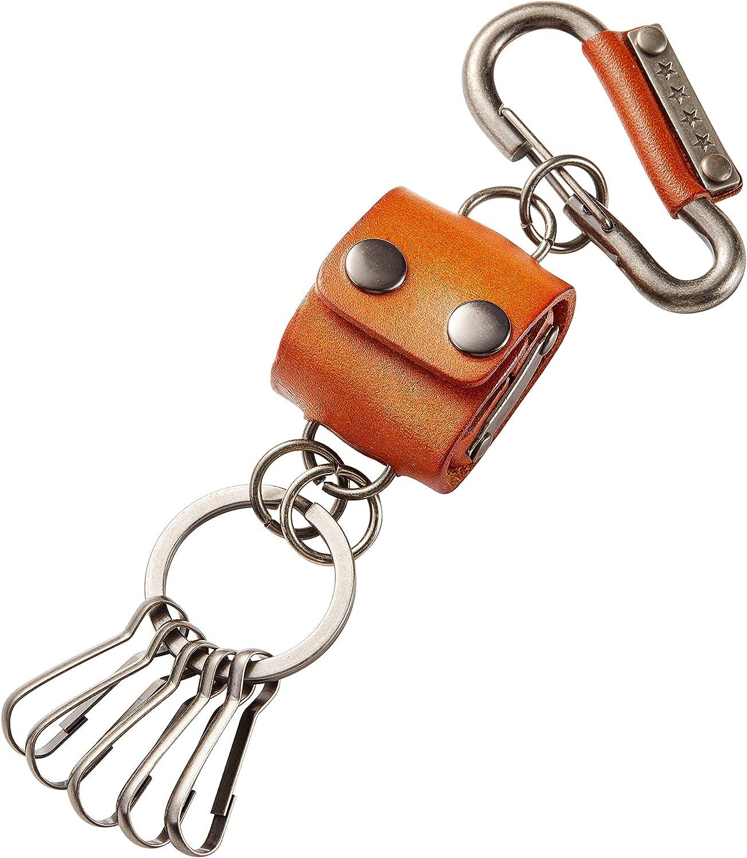 aiminGo Key Chains, fashion Cowhide Handmade Keychains for Men and Women, Car Keychains/Keyrings