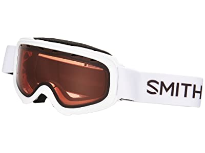 Smith Optics Gambler Goggle (Youth Fit) (White Frame/RC36 Lens) Goggles