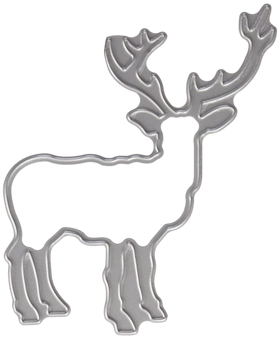 Tattered Lace Quilt Die Cut, Deer/Stag Silhouette