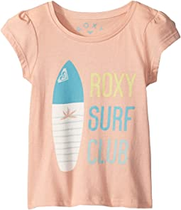 Roxy Kids - Moid Surf Club Teenie Tee (Toddler/Little Kids/Big Kids)