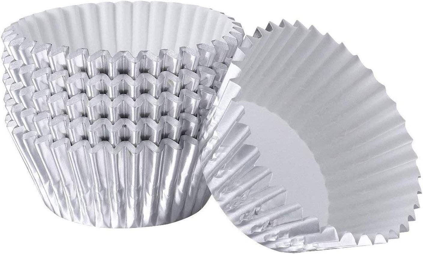 supreme Cupcake Liners Aluminum Foil Cups Baking for Cake Molds Muffin security