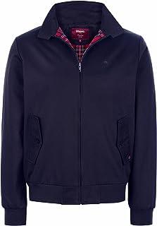 merc London Men's Navy Harrington Jacket Xs-XXL