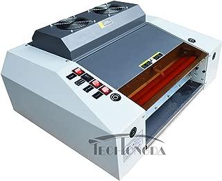 INTBUYING 13In A3 UV Laminating Photo Protector 220V UV Coating Laminator Machine + Free Transformer