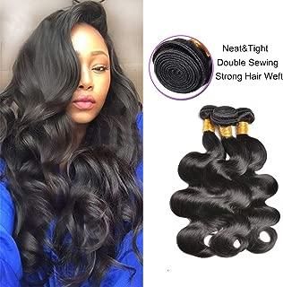 100% Human Hair Weaves Brazilian Body Wave Bundles,GEM Beauty Hair 16 18 20 Body Wave Unprocessed Human Hair 3 Bundles Body Wave Human Hair