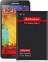 Note 3 Battery Acevan 3200mAh Li-ion Battery Replacement for Samsung Galaxy Note 3 N900,..