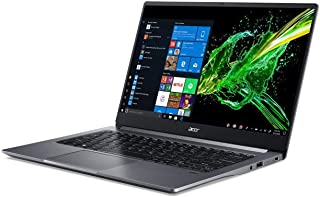 "Acer Swift 3 14"" FHD IPS Laptop (Intel Core i5-1025G1, 8GB RAM, 512GB SSD, Windows 10 Home) Grey QWERTY"