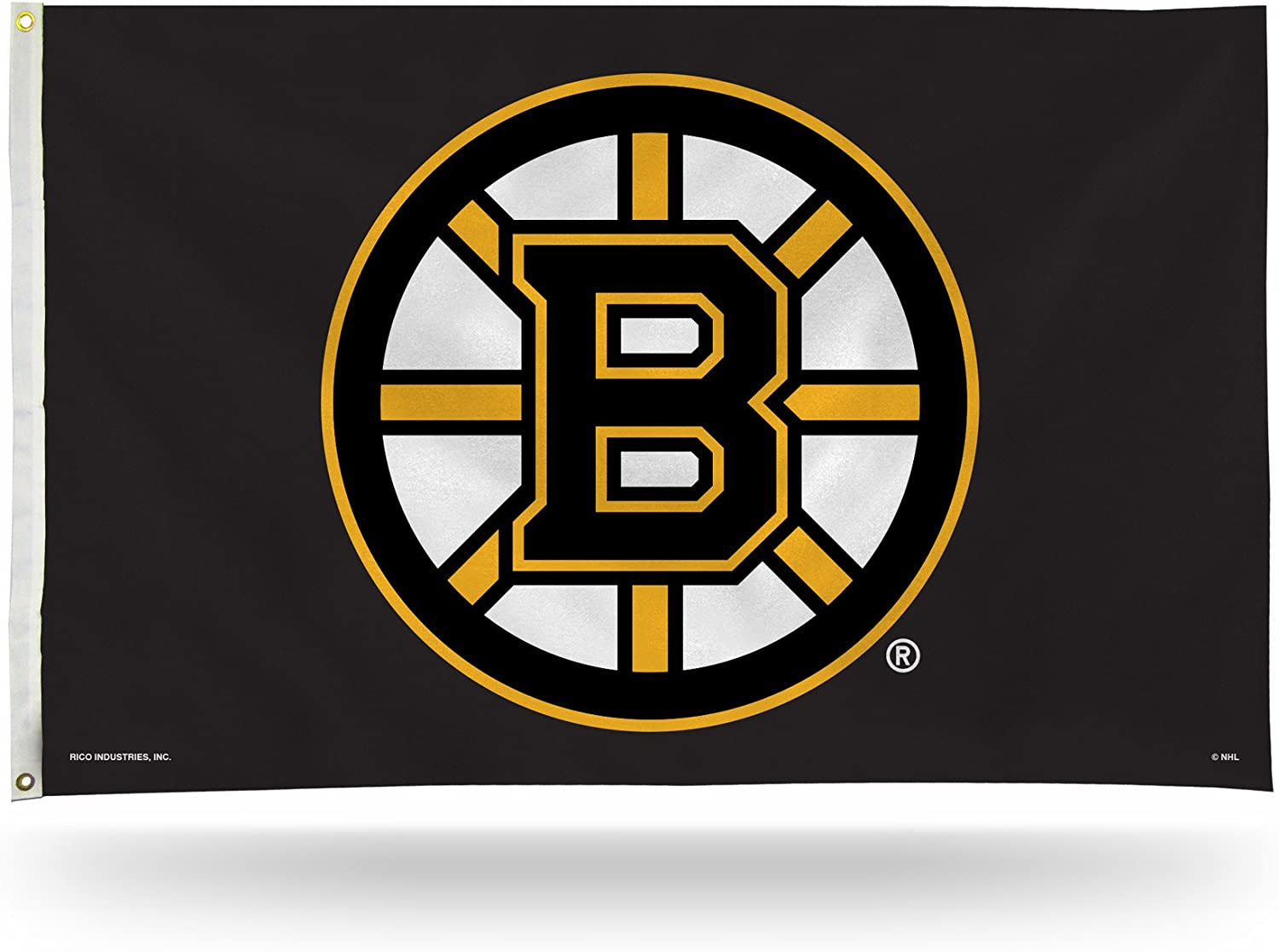 NHL latest 3-Foot by 5-Foot Single Sided 35% OFF Grommets Flag with Banner