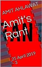 Amit's Rant: 25 April 2019 - 3