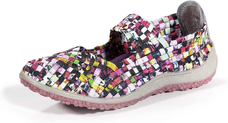 Zee Alexis Sammi Mary Jane Mosaic Multi Slip on Women's shoes