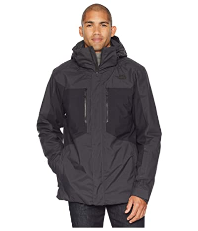 The North Face Clement Triclimate(r) Jacket (Asphalt Grey/TNF Black) Men