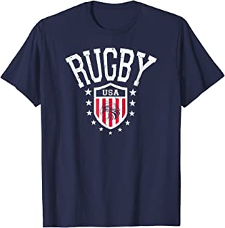Vintage Rugby USA Eagle Shield T-shirt