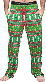 A Christmas Story Major Award Leg Lamp Pink Nightmare Green Lounge Pants