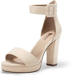 IDIFU Women's Stiletto Heel Sandals Shoes
