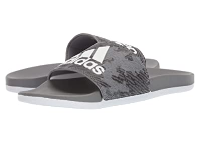 adidas Adilette Comfort (Grey Three F17/Footwear White/Grey Three F17) Men