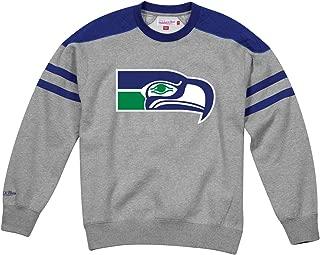 Mitchell & Ness Seattle Seahawks NFL Post Season Run Men's Crew Sweatshirt