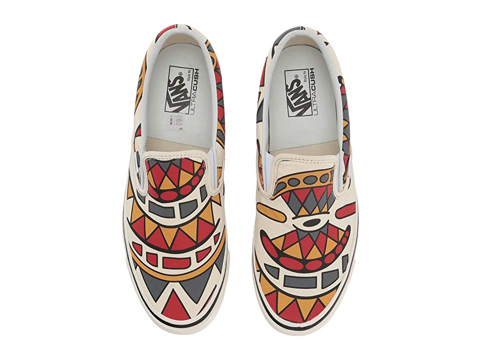 Vans Classic Slip-On 98 DX ((Anaheim Factory) OG White/Hey Mon) Athletic Shoes