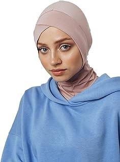 سماعات الرأس والنظارات، قبعة أنبوبية من القطن، جاهزة لارتداء ملحقات الإسلامية للنساء