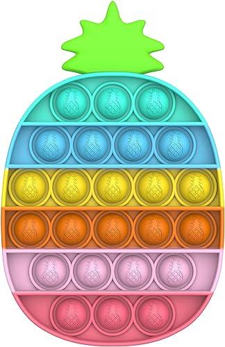 Bdwing Push Bubble Sensorielle Fidget Jouet, Silicone Anti-Stress Sensoriels à Presser Jouets Educatifs de Besoins Sp...