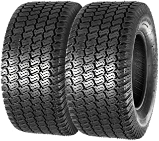 MaxAuto Turf Saver Lawn & Garden Tire - 20X8-10 20x8.00x10 LRB 4ply, Set of 2