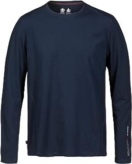 Evolution Sunblock Long Sleeve T-Shirt Tee T Shirt Top Navy - Lightweight. Breathable - UPF40
