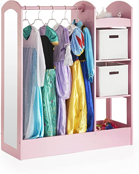 Guidecraft See And Store Dress Up Center Pink G98403