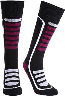 f0f5c1cff Andake Merino Wool Ski Socks High Performance Thermal Warm Cushioned Boot  Socks Outdoor Winter Sport Snowboard