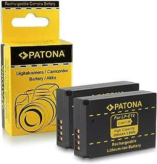 2x Batería LP-E12 para Canon EOS 100D | EOS M | EOS Rebel SL1