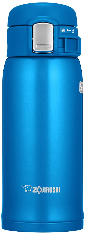 サーバントビル歌う象印(ZOJIRUSHI) 水筒 直飲み 【ワンタッチオープン】 ステンレスマグ 360ml マットブルー SM-SD36-AM