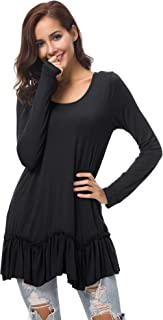 Best stylish long tops Reviews
