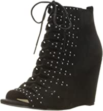 حذاء حريمي من الجلد السويدي من Jessica Simpson من Barlett لون بني كانيليا
