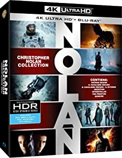 Nolan Collection 21 Dischi (4K UltraHD + Blu Ray)