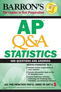 AP Q&A Statistics: With 600 Questions and Answers