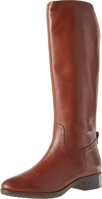 Geox Women's Classic 激安☆超特価 Boots 数量限定アウトレット最安価格 high Boat Knee