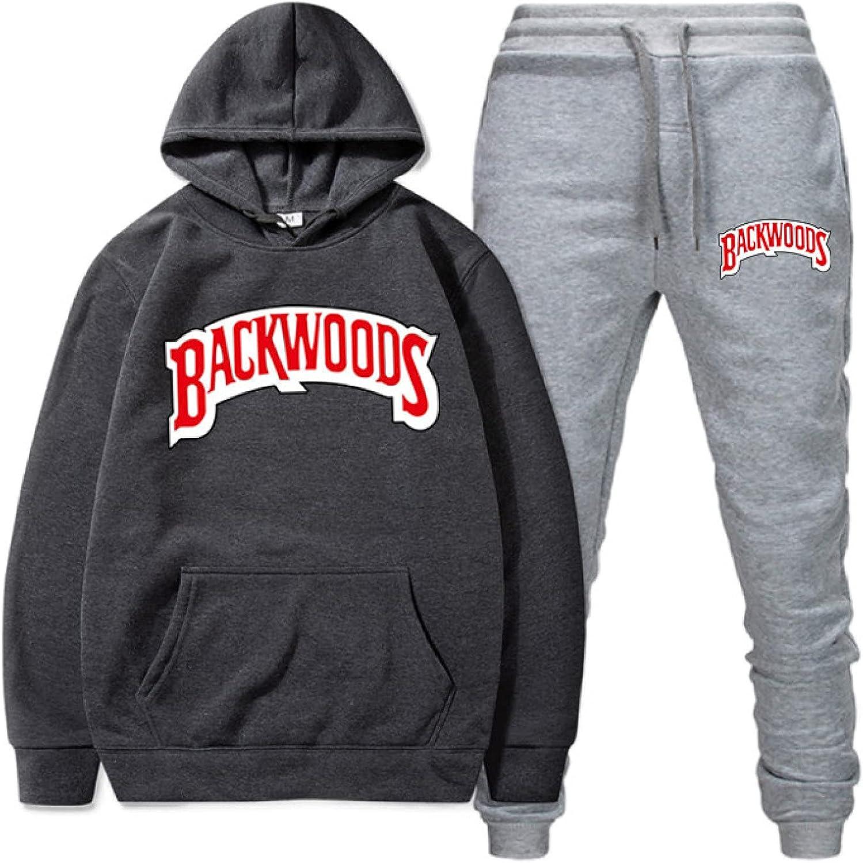 Super intense SALE BackwoodsMen's and Women's Hoodie Letter Set Fashion Max 85% OFF Sweatshirt