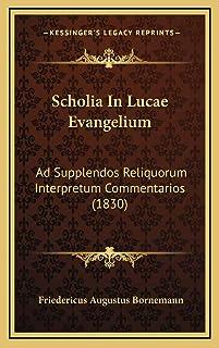 Scholia In Lucae Evangelium: Ad Supplendos Reliquorum Interpretum Commentarios (1830)