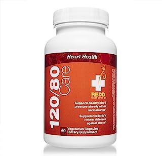 Redd Remedies, 120/80 Care, Natural Blood Pressure Formula, 60 Capsules