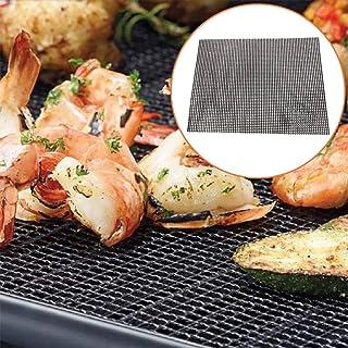 Grillage métallique de 40 cm en acier inoxydable pour barbecue - Grille de cuisson multifonction pour la cuisson en extérieur