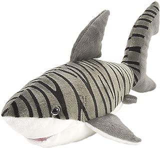 Wild Republic Tiger Shark Plush, Stuffed Animal, Plush Toy, Gifts for Kids, Cuddlekins 15 inches