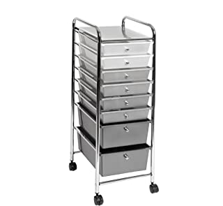 Best 8 drawer storage cart Reviews