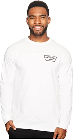 Full Patch Back Long Sleeve Tee